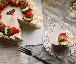 简便貌美的班斓漩涡蛋糕的做法
