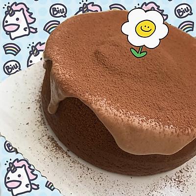 巧克力云朵奶盖蛋糕