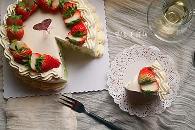 简便貌美的班斓漩涡蛋糕