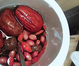 补气血 五红汤的做法