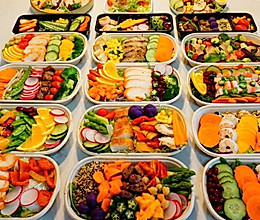 减脂沙拉的做法
