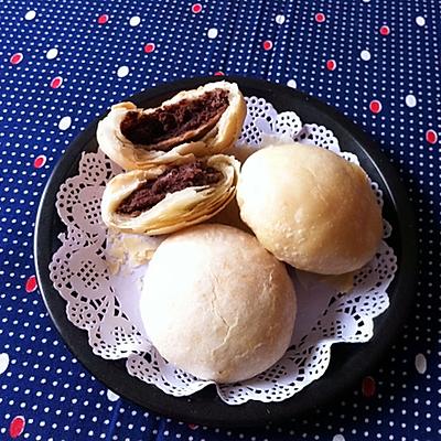 红豆沙酥皮月饼