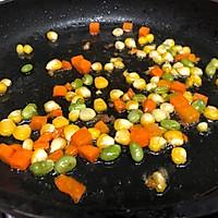 蔬菜粒饭团的做法图解2