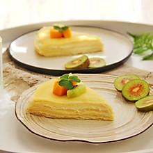 榴莲千层蛋糕#柏翠辅食节-烘培零食#