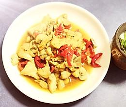 蘑菇炒豆腐的做法