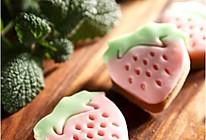 清新草莓饼干的做法