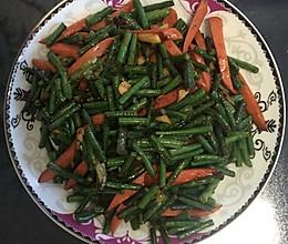 小炒豇豆的做法