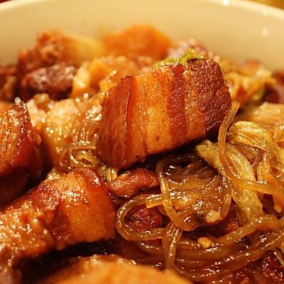 猪肉白菜炖粉条子