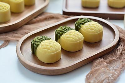 入口即化的奶香绿豆糕