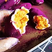 仿紫薯面包~网红面包的做法图解16