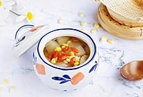 冰糖炖雪梨玉米的做法
