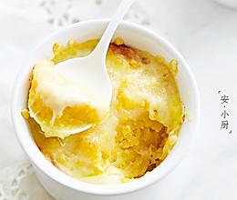 芝士焗红薯(秋冬暖胃)的做法