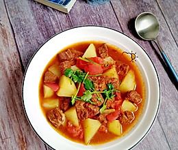 #牛气冲天#番茄土豆炖牛肉的做法
