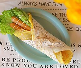 美味早餐•鸡蛋手抓饼•5分钟的做法