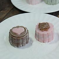 月饼的花样年华【冰皮月饼】。。。豆沙蛋黄芯的做法图解11