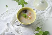 田园鲜虾粥的做法