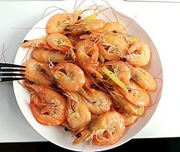 健康水煮虾(懒人菜系列)的做法