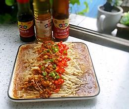 #中秋宴,名厨味#蒜蓉金针菇的做法