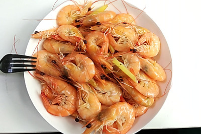 健康水煮虾(懒人菜系列)