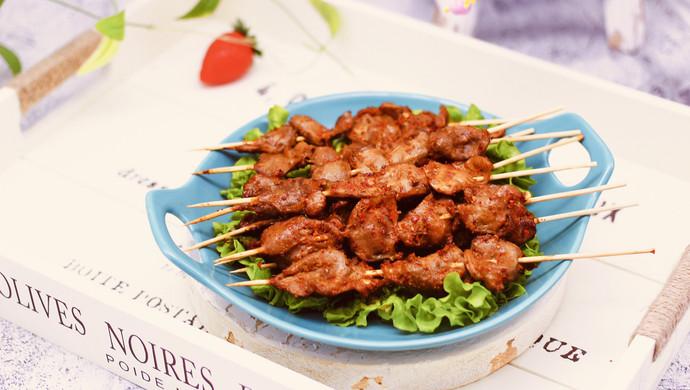 香辣孜然烤鸡胗#做道好菜,自我宠爱!#