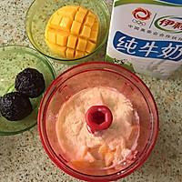 经典港式甜品一一芒果黑糯米甜甜的做法图解4