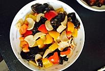 彩椒木耳杏鲍菇的做法