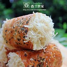 香葱肉松面包卷 最过瘾的面包 --香兰世家
