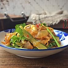 凉拌海蜇皮#给老爸做道菜#