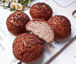 详解巧克力酥皮泡芙的做法