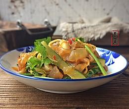 凉拌海蜇皮#给老爸做道菜#的做法