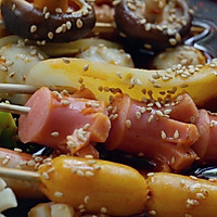 家庭版美味冷锅串串#立白果醋洗洁精·自动去油#