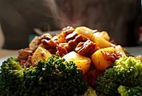 蚝油牛肉炒年糕粒的做法