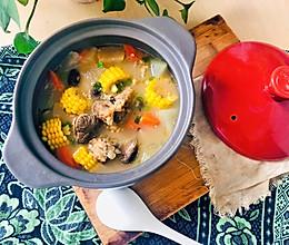 玉米冬瓜大骨汤的做法
