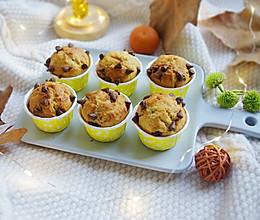 #憋在家里吃什么#巧克力豆香蕉马芬小蛋糕的做法