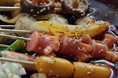 家庭版美味冷鍋串串#立白果醋洗潔精·自動去油#