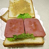 煎蛋火腿三明治的做法图解8