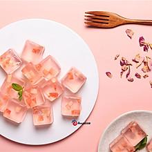 吃完的桃皮不要扔,做成蜜桃果冻,冰爽清甜