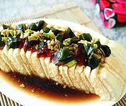 松花豆腐的做法