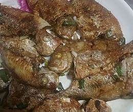 干煎小鱼的做法