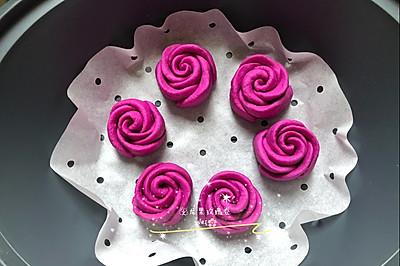 美善品版火龙果玫瑰卷