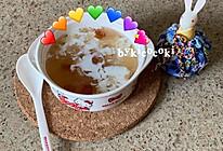 适合女生的平价营养美容羹-牛奶桃胶银耳羹的做法