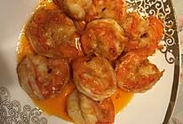 番茄酱虾仁的做法