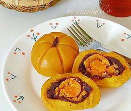 咸蛋黄南瓜饼的做法