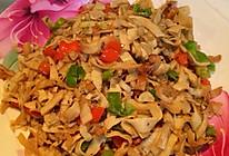 孜香青椒炒干豆腐的做法
