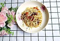 #今天吃什么#酸辣豆芽的做法