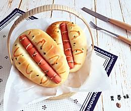 火腿面包的做法