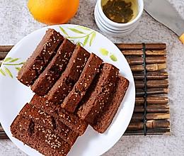 不放黄油的低脂香蕉磅蛋糕的做法