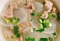 萝卜肉片汤的做法