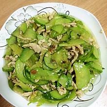 小黄瓜炒肉