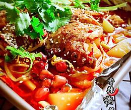 香辣烤鱼#宴客拿手菜#的做法